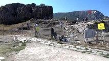 Amasya Kalesi'nde yapılan arkeolojik kazılarda 700 yıllık cami bulundu
