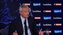 """Macron et les retraites : """"Ce n'est pas une clarification, c'est une indication"""", affirme Bruno Le Maire"""