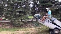 Accident de voiturette
