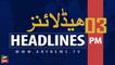 ARYNEWS HEADLINES   PM IMRAN KHAN ADDRESSES ISNA CONVENTION   3 PM   1 SEP 2019