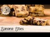 Banana Bites Vegan - Banana Bites Rezept - Banana Bites Recipe - Vegane Snacks ,  Vegane Rezepte