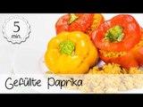 Gefüllte Paprika Vegan Rezept - Vegane Gefüllte Paprika Tofu - Gefüllte Paprika | Vegane Rezepte