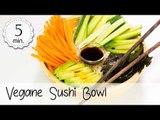 Vegane Sushi Bowl - Sushi Bowl Vegan - Sushi Bowl Rezept - Vegan Sushi Bowl | Vegane Rezepte
