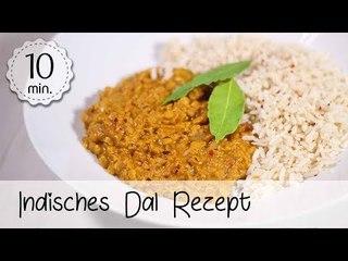 Indisches Dal Rezept mit roten Linsen und Kokosmilch - Veganes Dal selber machen!   Vegane Rezepte