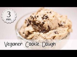 Veganer Cookie Dough Rezept - Veganer Keksteig zum Löffeln - Cookie Dough Vegan   Vegane Rezepte