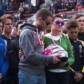 Formula 2 yarışında hayatını kaybeden genç pilot Anthoine Hubert, yarış parkurunda anıldı