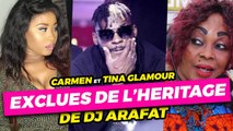 CARMEN SAMA & TINA GLAMOUR exclues de l'héritage de DJ ARAFAT