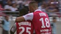 Reims 1-0 Lille: GOAL - Doumbia (pen)