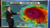 Dorian, porteur de vents puissants et de pluies torrentielles, est devenu cet après-midi l'ouragan le plus violent jamais enregistré dans le nord-ouest des Bahamas
