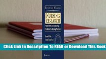 Online Resource Manual for Nursing Research: Generating and Assessing Evidence for Nursing
