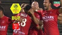 But Théo VALLS (33ème) / Nîmes Olympique - Stade Brestois 29 - (3-0) - (NIMES-BREST) / 2019-20
