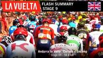 Flash Summary - Stage 9 | La Vuelta 19