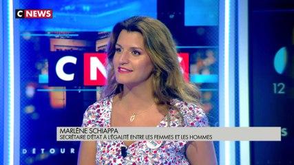 Marlène Schiappa - CNews dimanche 1 septembre 2019