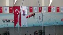 Spor artistik cimnastik dünya kupası'nda şampiyon türkiye