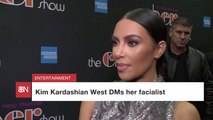 Kim Kardashian And Her Facialist
