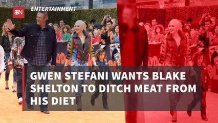 Gwen Stefani Pushes Diet Onto Blake Shelton