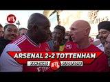 Arsenal 2-2 Tottenham  | Emery's Team & Tactics Were Too Negative! (Lee Judges)