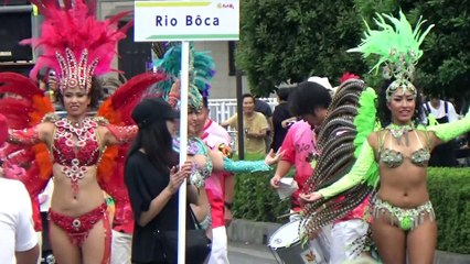 【2019/9/1】第41回たたら祭りサンバパレード 3 RIO BOCA
