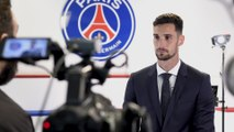 Sergio Rico's first day in Paris