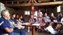 Un atelier de chant hongrois