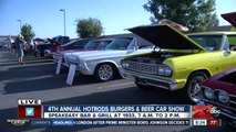 Hot rods and classic cars showing off to help Kern County veterans
