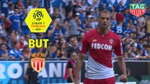 But Islam SLIMANI (40ème) / RC Strasbourg Alsace - AS Monaco - (2-2) - (RCSA-ASM) / 2019-20