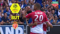 But Islam SLIMANI (11ème) / RC Strasbourg Alsace - AS Monaco - (2-2) - (RCSA-ASM) / 2019-20