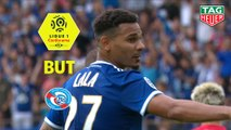 But Kenny LALA (39ème pen) / RC Strasbourg Alsace - AS Monaco - (2-2) - (RCSA-ASM) / 2019-20
