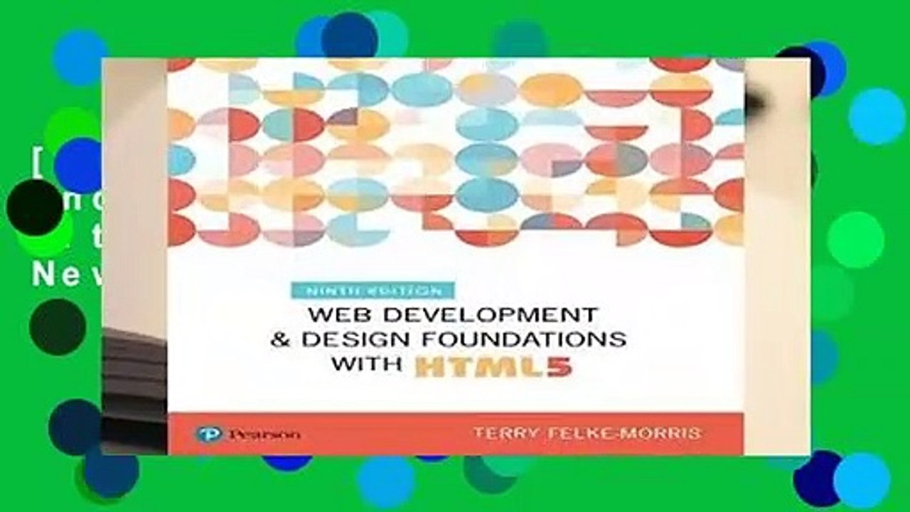 Free Web Development And Design Foundations With Html5 What S New In Computer Science Video Dailymotion
