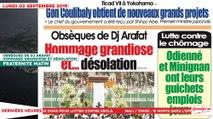 Le Titrologue du 02 Septembre 2019 :  Obsèques de Dj Arafat, hommage grandiose et désolation