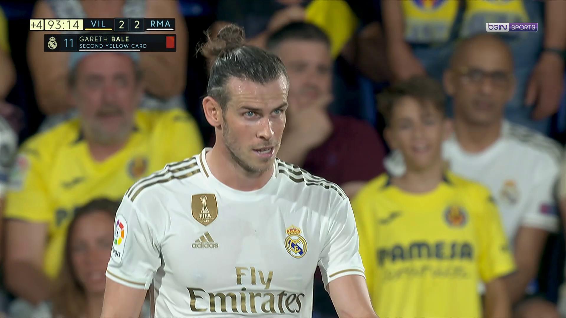 Liga : Deux cartons jaunes en 1 minute pour Bale !