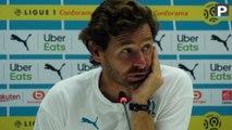 """OM-ASSE : pour Villas-Boas, son équipe """"a mal joué"""""""