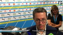 """Mercato OM : """"On n'est pas uniquement en contact avec Rongier"""" (Eyraud)"""