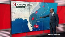 Dorian continues to slowly push across the northern Bahamas