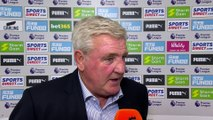 Bruce delighted with Newcastle fight back | Steve Bruce Post Match | Newcastle 1-1 Watford