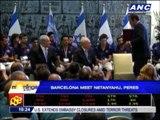 Barcelona meets Israeli president, minister