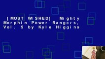 [MOST WISHED]  Mighty Morphin Power Rangers, Vol. 5 by Kyle Higgins