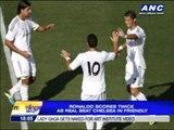 Ronaldo scores twice as Real beat Chelsea