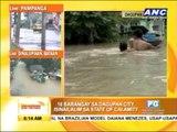 Dagupan homes submerged in floods