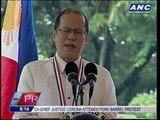 Aquino urges Filipinos to monitor gov't spending