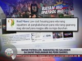Bayan Patrollers speak on right 'pork' use