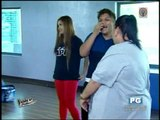Janice loses breath in 'The Voice' exercise session