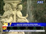 Militant groups urge MWSS to resolve water rate hike petition