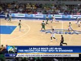 La Salle beats UST, ties for 1st place