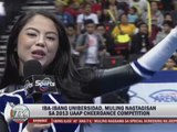 Marc Logan reports: UAAP Cheer Dance stunts