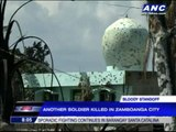 Another soldier killed in Zamboanga City