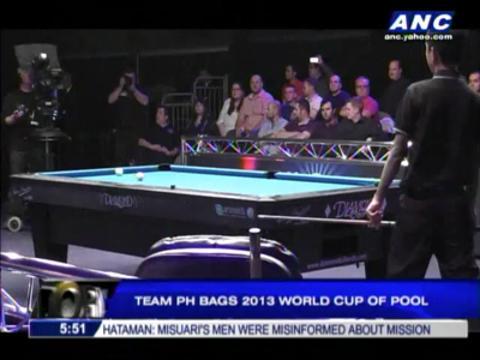 Team PH wins 2013 World Cup of Pool