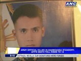 Soldier in Zambo killed on wife's birthday