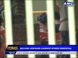 Secured MNLF hostages undergo stress debriefing