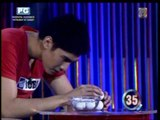 Robi, Matteo play 'Minute To Win It'
